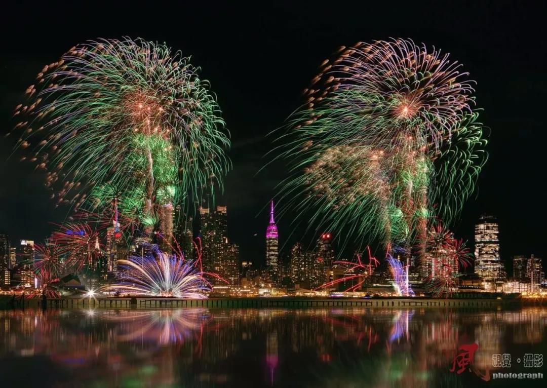 纽约春节焰火表演